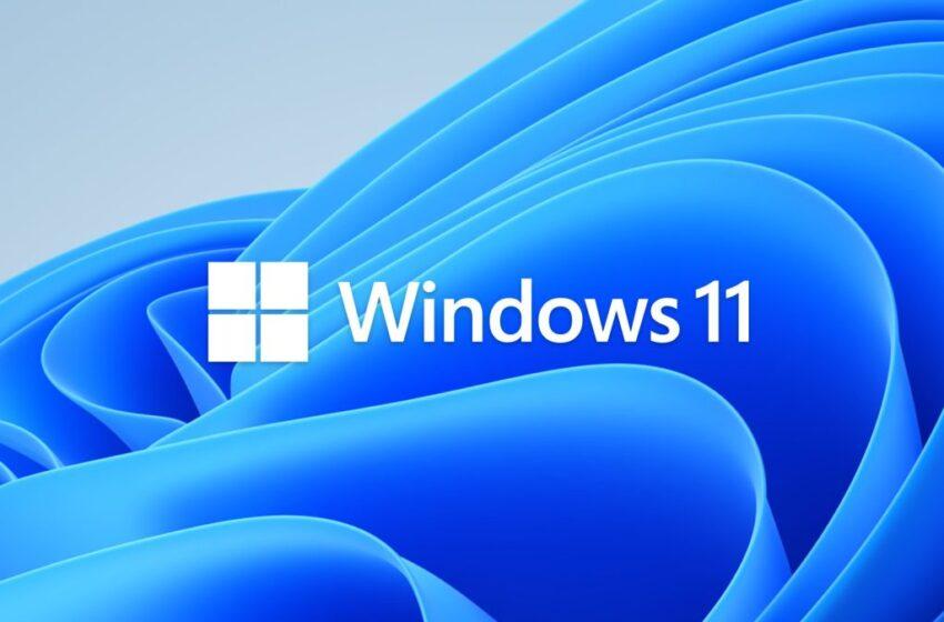 El nuevo sistema operativo Windows 11