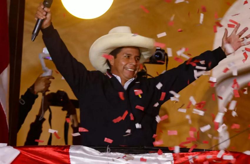 Pedro Castillo declarado como nuevo Presidente del Perú