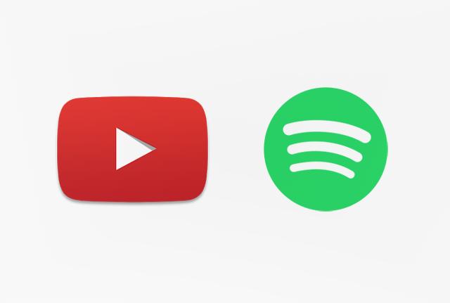 YouTube y Spotify presentan planes económicos para sus usuarios