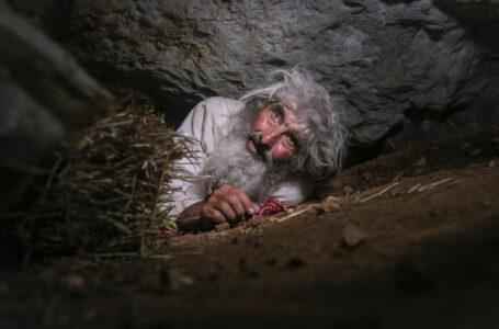Se vacuna contra el covid hombre que vive en una cueva
