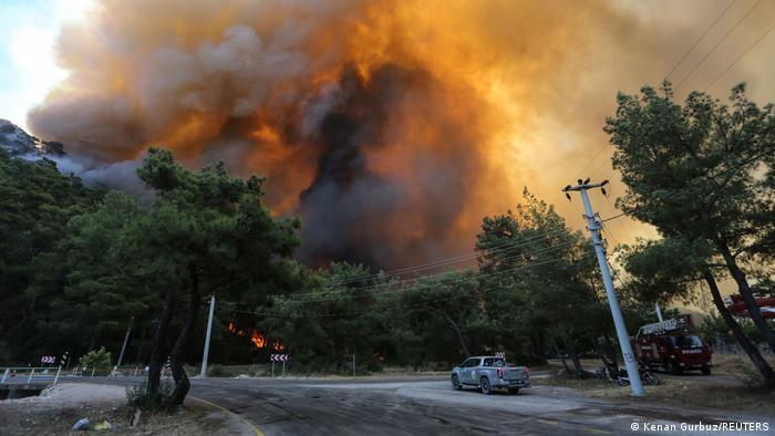 Devastadores incendios en Turquía