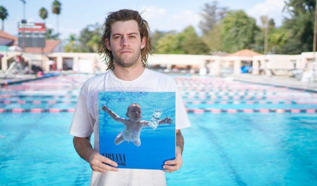 """Joven de la portada del álbum """"Nevermind"""" demanda a Nirvana"""