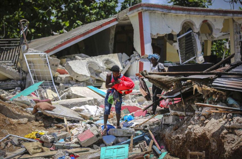 Luego de un terrible terremoto en Haití, los amenaza una tormenta