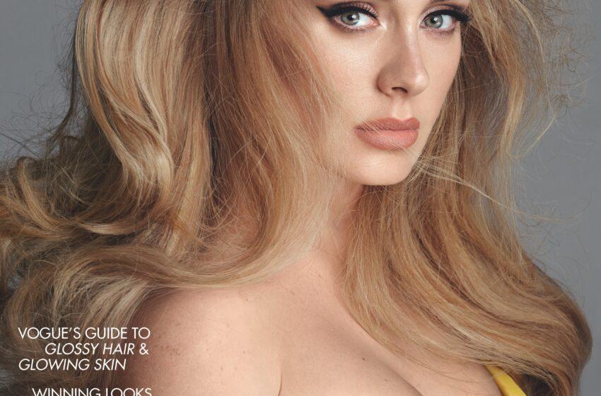Adele y la asombrosa imagen en la portada de Vogue