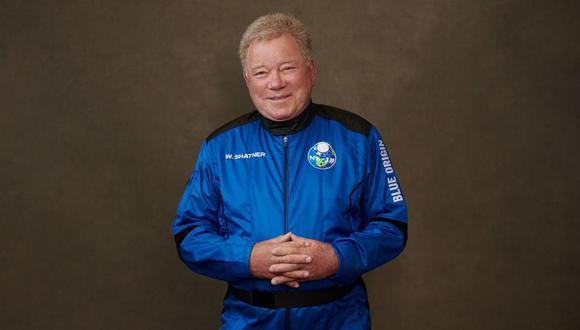 William Shatner y su viaje que cumplió su sueño de ir al espacio